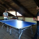 Enjoy the new ping pong table