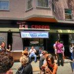 Ice cream at The Creamery