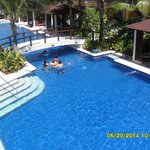 Pool Area by Pool Bar