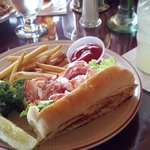 Lobster Roll at the Chart Room