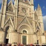 Duomo in town of Orvieto