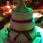 The Amazing wedding cake organized by the Hotel