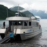 the boat to and from Seward