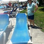 Another Worn  out sun lounger