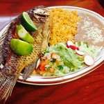 Mojarra Frita (Fried Whole Tilapia Fish)