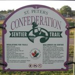 Ride the Confederation trail in St Peters Bay