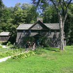The Orchard House: Home of writer, Louisa May Alcott, and her father, Bronson Alcott, Transcende