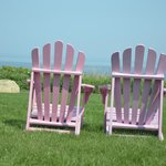 Adirondack Chairs for relaxing!