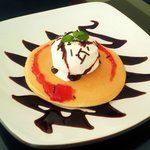 Strawberry Chocolate pancake