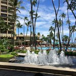 View from the check in area @ HHV in Honolulu.