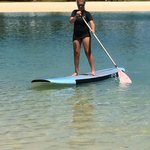 Lost of kids activities...paddleboarding #1
