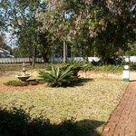 The Garden in Winter - its huge!