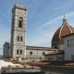 Vista Duomo e torre di Giotto