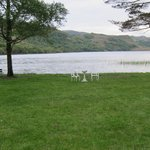 View of Caragh Lake from Garden