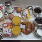Una colazione impeccabile