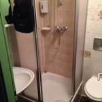 Tight small bathroom