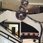 Le Meridien Lobby Staircaise