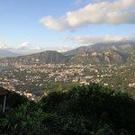 Wonderful vista whilst sat on balcony