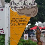 Homemade Ice Cream available on site