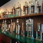 Display of awards