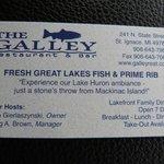 Experience the Lake Huron whitefish