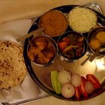 A not so delicious thali