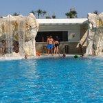 La piscina delle cascate