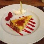 One dessert...