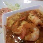 Mofongo with Shrimps
