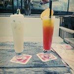 Pina colada und tequila sunrise :))