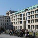 Alrededores de la Puerta de Brandenburgo
