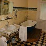 Ванная комната в Королевском номере