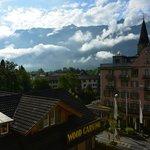 Вид на Альпы из номера