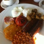 Traditional welsh breakfast (without black pudding)
