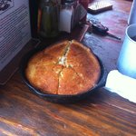 Cron bread in skillet