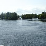 Few of the Thousand Islands, Canadian side.