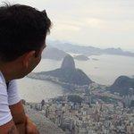 Vista de Río desde el Cristo
