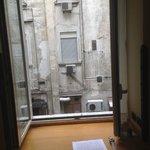 Uitzicht vanuit kamer 158