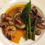 Shrimp/Steak Dinner - Yummy.