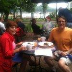Breakfast on the patio at Ullikana Inn