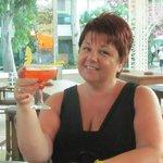 One of Mustafa's brilliant bikini martini's!