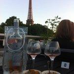 Vue sur Tour Eiffel