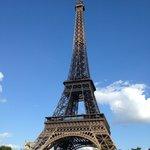 Tour Eiffel vue du Yacht
