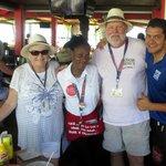 Katrina & Rafa with my wife and I