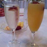 Champagne and Mimosa