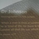 Great quote about London