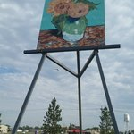 The Big Easel, a painting by Van Gogh