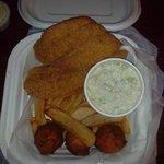 2 Piece Catfish Dinner