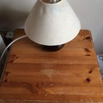 Bit of a shabby bedside and lamp