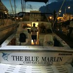 The day begins on The Blue Marlin